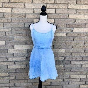 American Eagle acid wash mini dress size medium